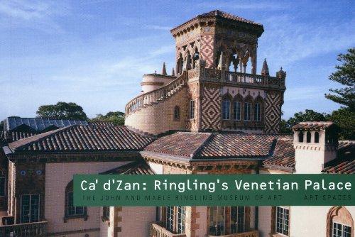 9781857596427: Ca d'Zan: Ringling's Venetian Palace