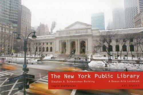 9781857597219: New York Public Library: Stephen A Schwartzman Building: A Beaux-Arts Landmark Art Spaces Series