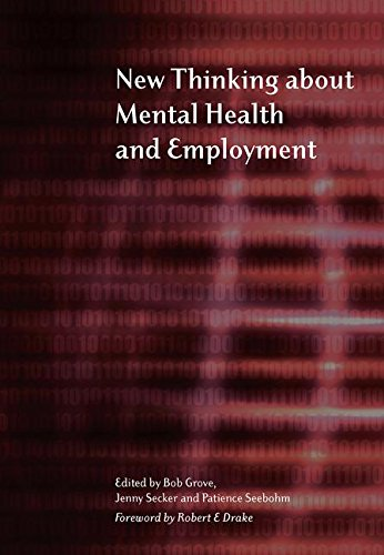 9781857756678: New Thinking About Mental Health and Employment