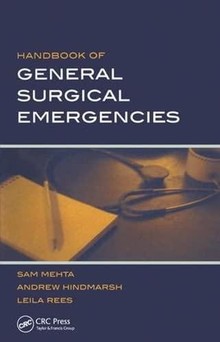 9781857757460: Handbook of General Surgical Emergencies