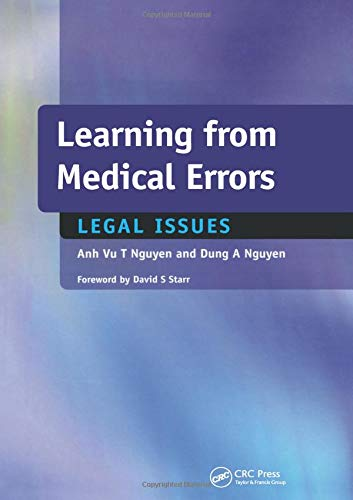 9781857757675: Learning from Medical Errors: Legal Issues