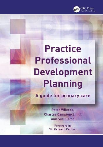 9781857758054: Practice Professional Development Planning: A Guide for Primary Care (Radcliffe Primary Care)