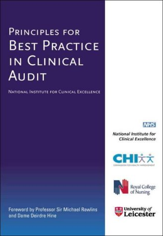 9781857759761: Principles for Best Practice in Clinical Audit