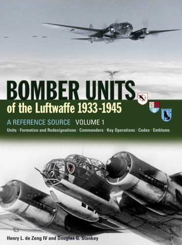 Bomber Units of Luftwaffe 1933-1945 : Reference Source Volume 1