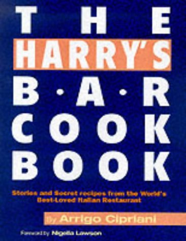 9781857823837: The Harry's Bar Cookbook