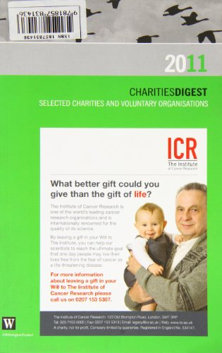 Charities Digest 2011: Selected Charities & Voluntary Organisations.