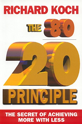 9781857881684: The 80/20 Principle: The Secret of Achieving More with Less