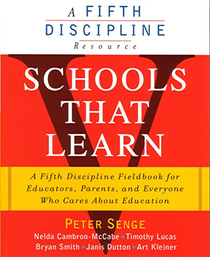 9781857882445: Schools That Learn (A Fifth Discipline Resource)