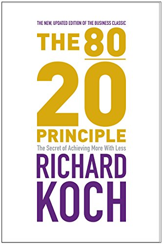 9781857883992: The 80/20 Principle: The Secret of Achieving More with Less