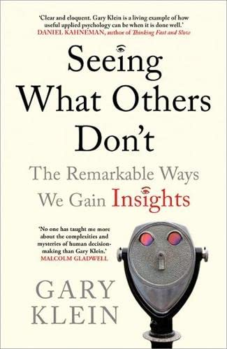 9781857886191: Seeing What Others Don't: The Remarkable Ways We Gain Insights
