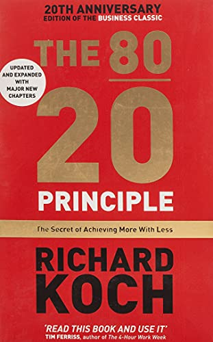 9781857886849: The 80/20 Principle: The Secret of Achieving More with Less: Updated 20th anniversary edition of the productivity and business classic