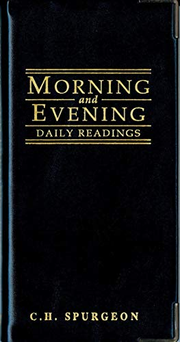 9781857921250: Morning And Evening - Gloss Black (Daily Readings S.)