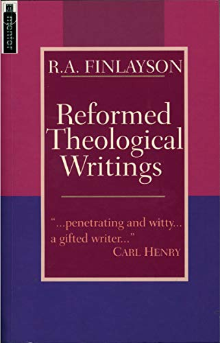 9781857922592: Reformed Theological Writings: Collections of the Writings of R.A.Finlayson (Mentor)