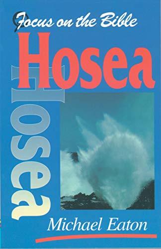 9781857922776: Hosea (Focus on the Bible)