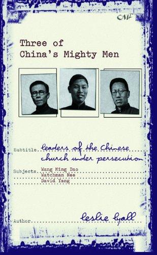 9781857924930: THREE OF CHINA'S MIGHTY MEN (Biography)