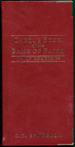 Chequebook Of The Bank Of Faith: Johnston Nlc