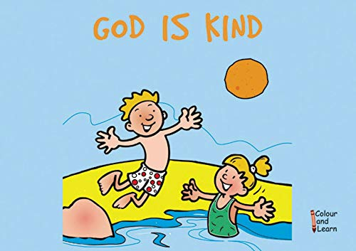 9781857926330: God Is Kind: Colour and Learn (Bible Art)