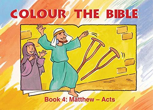 Colour the Bible Book 4: Matthew - Mark (Bible Art): Carine MacKenzie