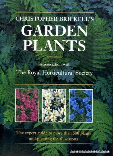 9781857932775: Christopher Brickell's Garden Plants