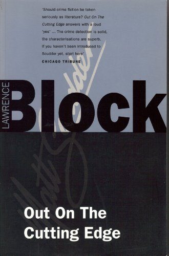 Out On The Cutting Edge (Matt Scudder Mystery) Signed Copy: Block, Lawrence