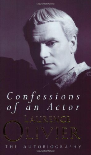 9781857974935: Confessions of an Actor: The autobiography
