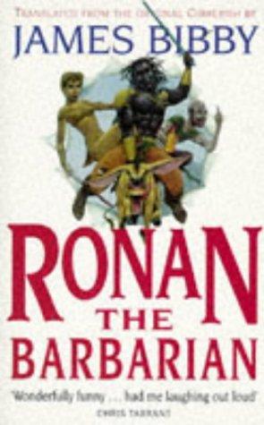 9781857983081: Ronan the Barbarian