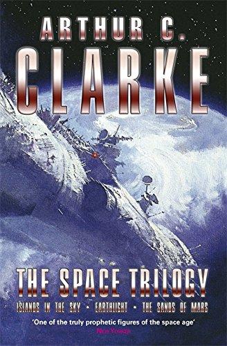 "The Space Trilogy: ""Islands in the Sky"",: Clarke, Arthur C."