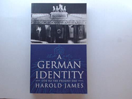 9781857991796: 'A GERMAN IDENTITY, 1770-1990 (PAPERMAC)'