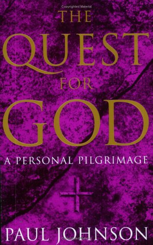 9781857998795: The Quest for God: A Personal Pilgrimage