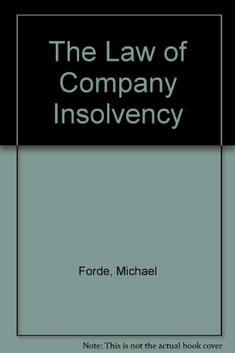 9781858000138: The Law of Company Insolvency