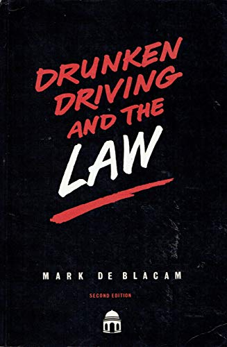 9781858000473: Drunken Driving and the Law
