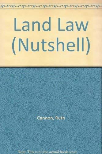 9781858001708: Land Law (Nutshell)