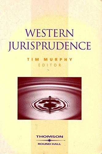 9781858003788: Western Jurisprudence