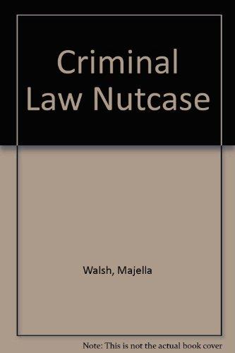 9781858004563: Criminal Law Nutcase