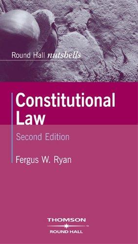 9781858004983: Constitutional Law