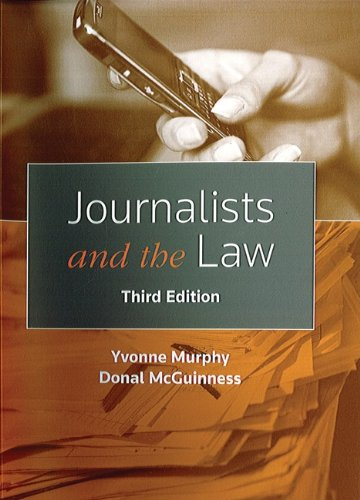 9781858005829: Journalists and the Law