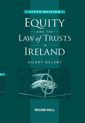 9781858006215: Equity and the Law of Trusts in Ireland