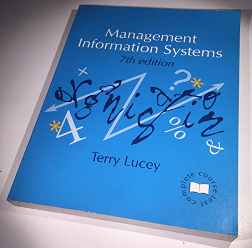 9781858051062: Management Information Systems (Management textbooks)