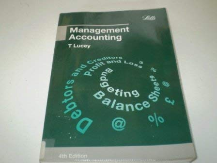 9781858051802: Management Accounting (Accounting Textbooks)