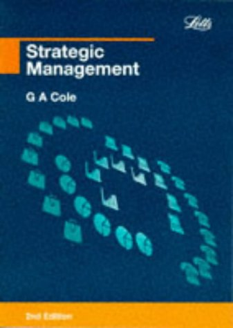 9781858051840: Strategic Management (Management textbooks)