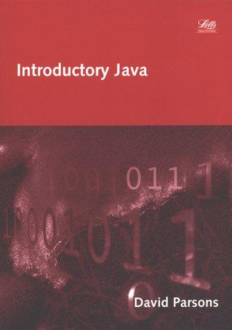 9781858053660: Introductory Java (Computing programming textbooks)