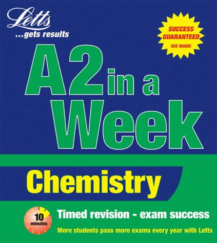 9781858059174: Chemistry (Revise A-level in a Week)