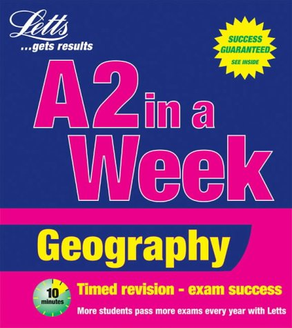Geography (Revise A2 in a Week) (9781858059235) by John Miller; Elizabeth Elam; John Milner