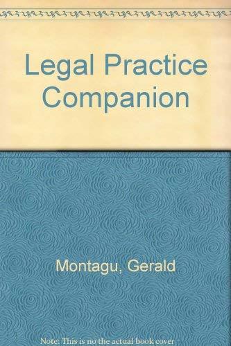 9781858111520: Legal Practice Companion