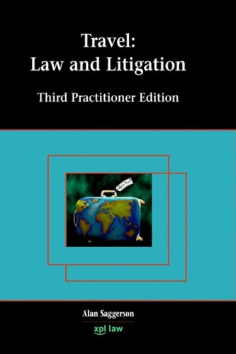 9781858113272: Travel: Law and Litigation
