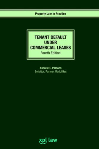 9781858113340: Tenant Default under Commercial Leases: Fourth Edition