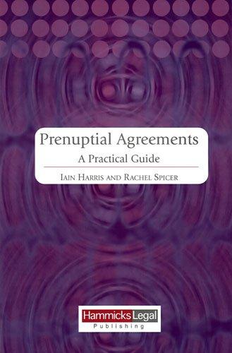 9781858116013: Prenuptial Agreements: A Practical Guide (Hammicks Legal Publishing)