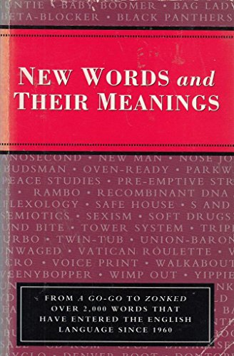 New Words and Their Meanings: Jonathan. Introduction by. Green
