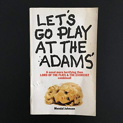 9781858134307: Let's Go Play at the adams'