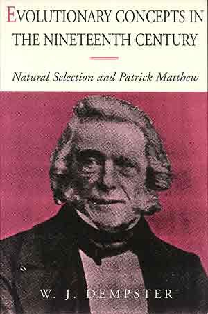 9781858213569: Evolutionary Concepts in the Nineteenth Century: Natural Selection and Patrick Matthew